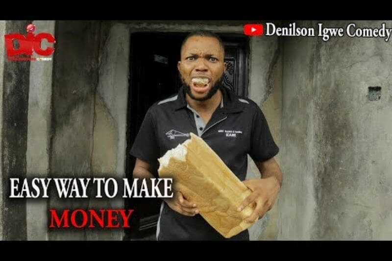 Let Denilson Igwe show you the easy way to make money in this new comedy skit| Watch on Sidomex