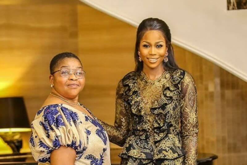 #EndSARS: Lilian Afegbai reacts as her mother, Carol Afegbai is accused of murder during her time as DPO in Benin