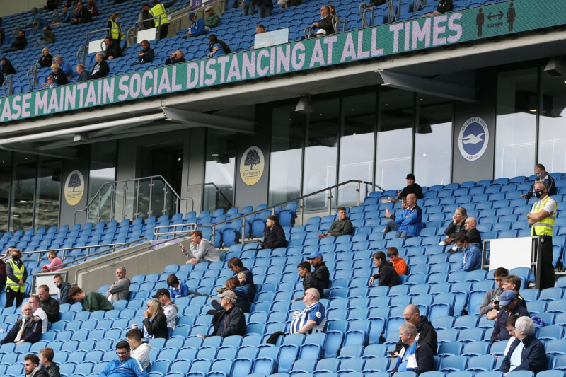 Fans return to football today