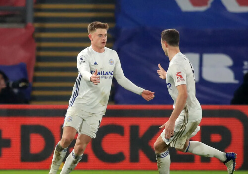 Harvey Barnes earns Leicester late draw at Crystal Palace