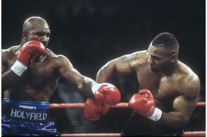 Holyfield calls out Tyson