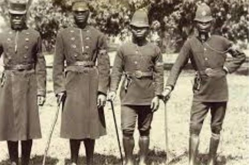 Nigerian Policemen of the Colonial time