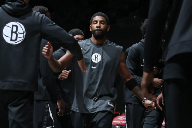 Kyrie Irving returns after serving leave of absence