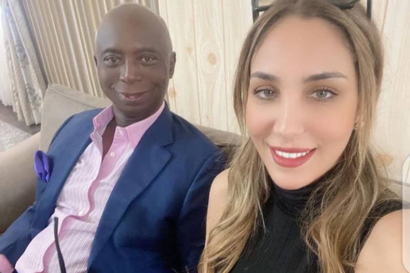 Ned Nwoko and Moroccan wife