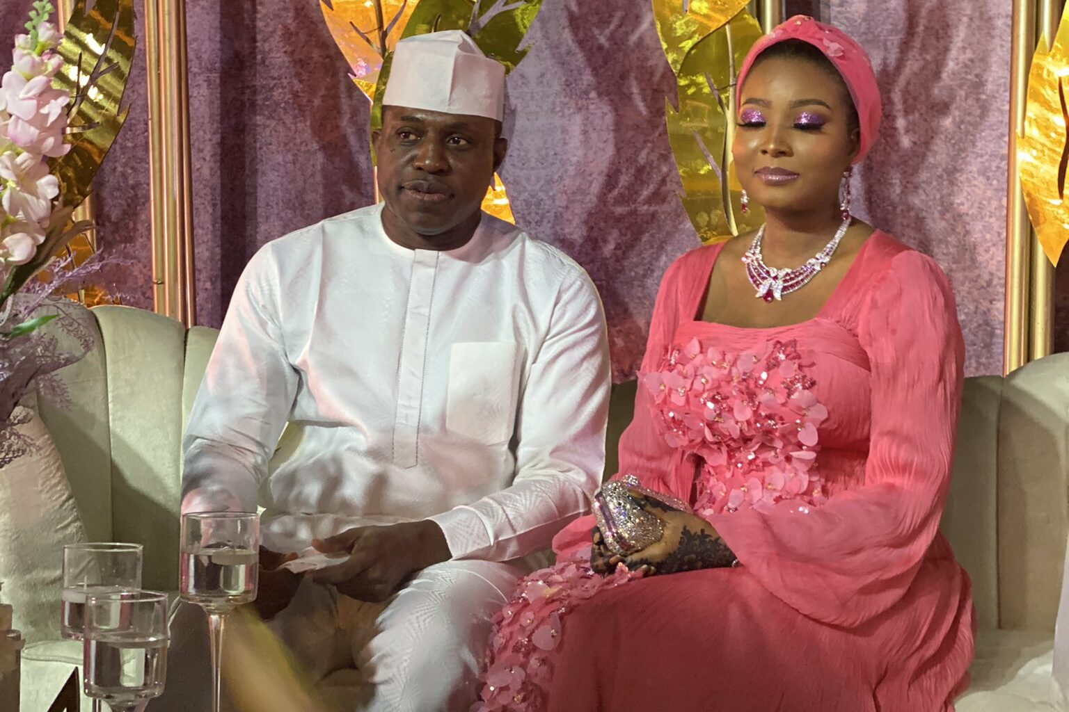 Laycon performs as Dimeji Bankole marries Aisha in Abuja