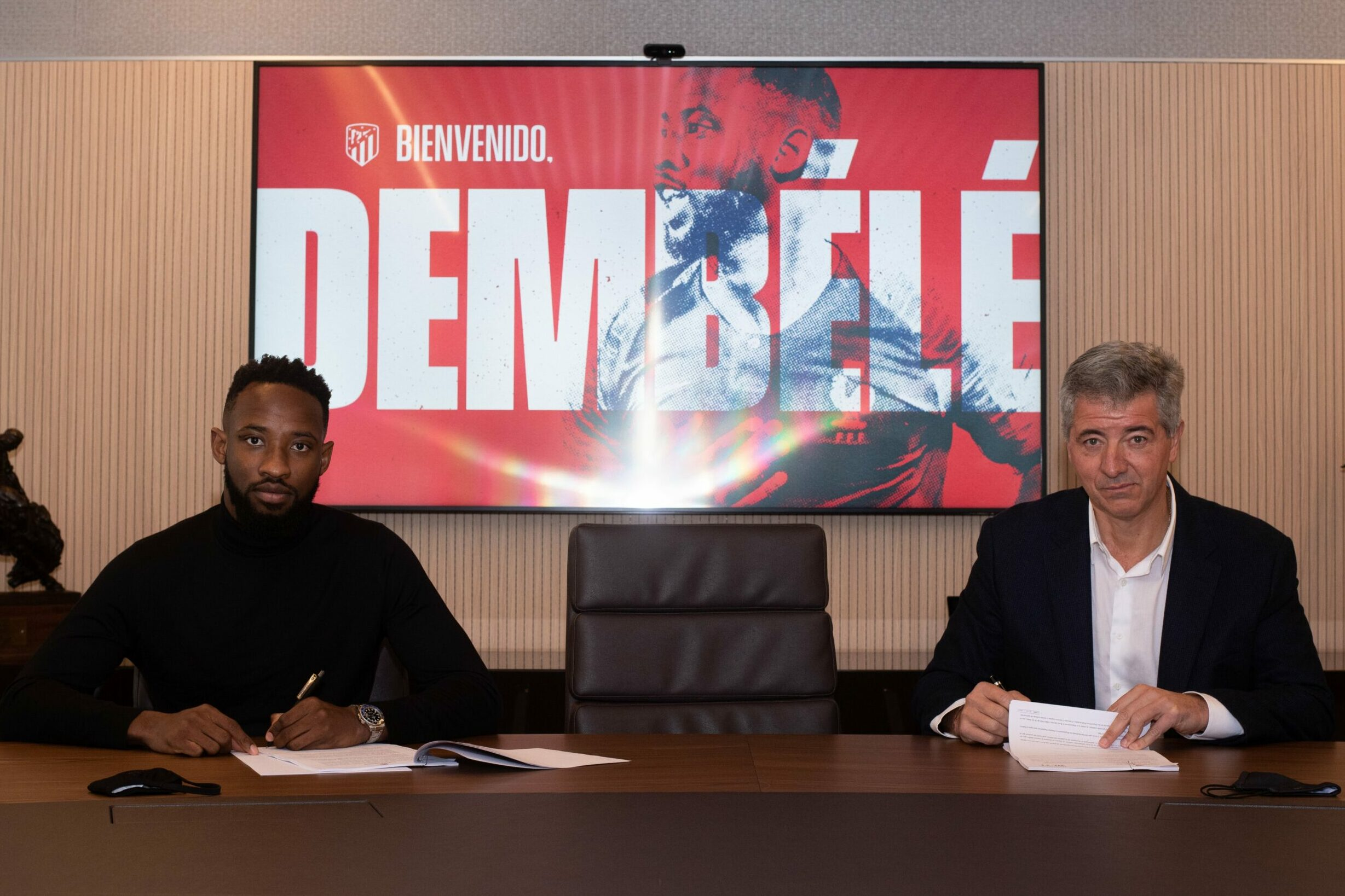 Moussa Dembele officially joins Atletico Madrid as Diego Costa replacement