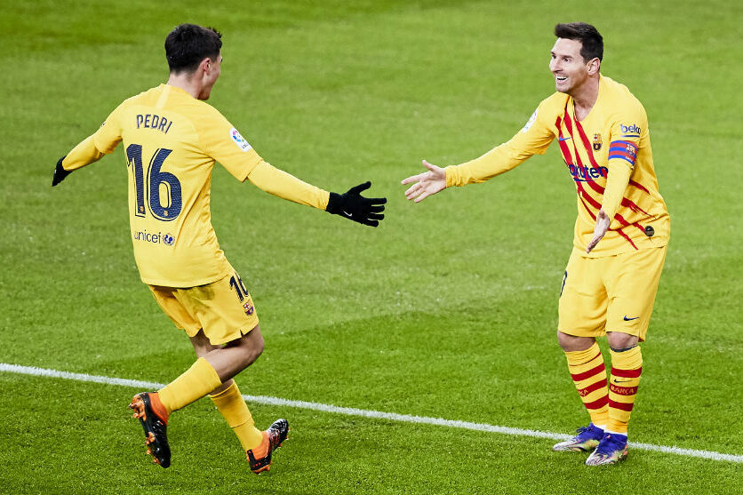 Messi and Pedri keeps Barcelona afloat with win against Athletic Bilbao
