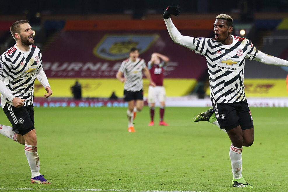 EPL roundup: Pogba sends Manchester United to first after late strike against Burnley