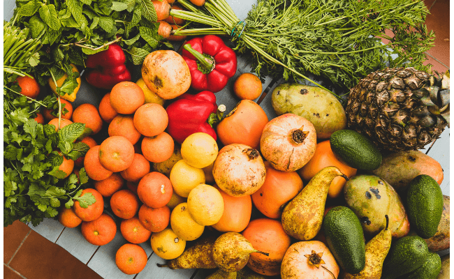 Fruit and Vegetables for Mouth Odour