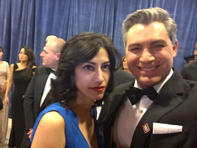 Jim Acosta and former wife Sharon Mobley Stow