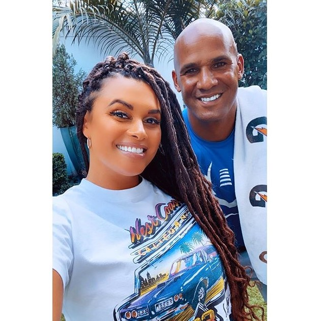 Joy Taylor and her brother Jason