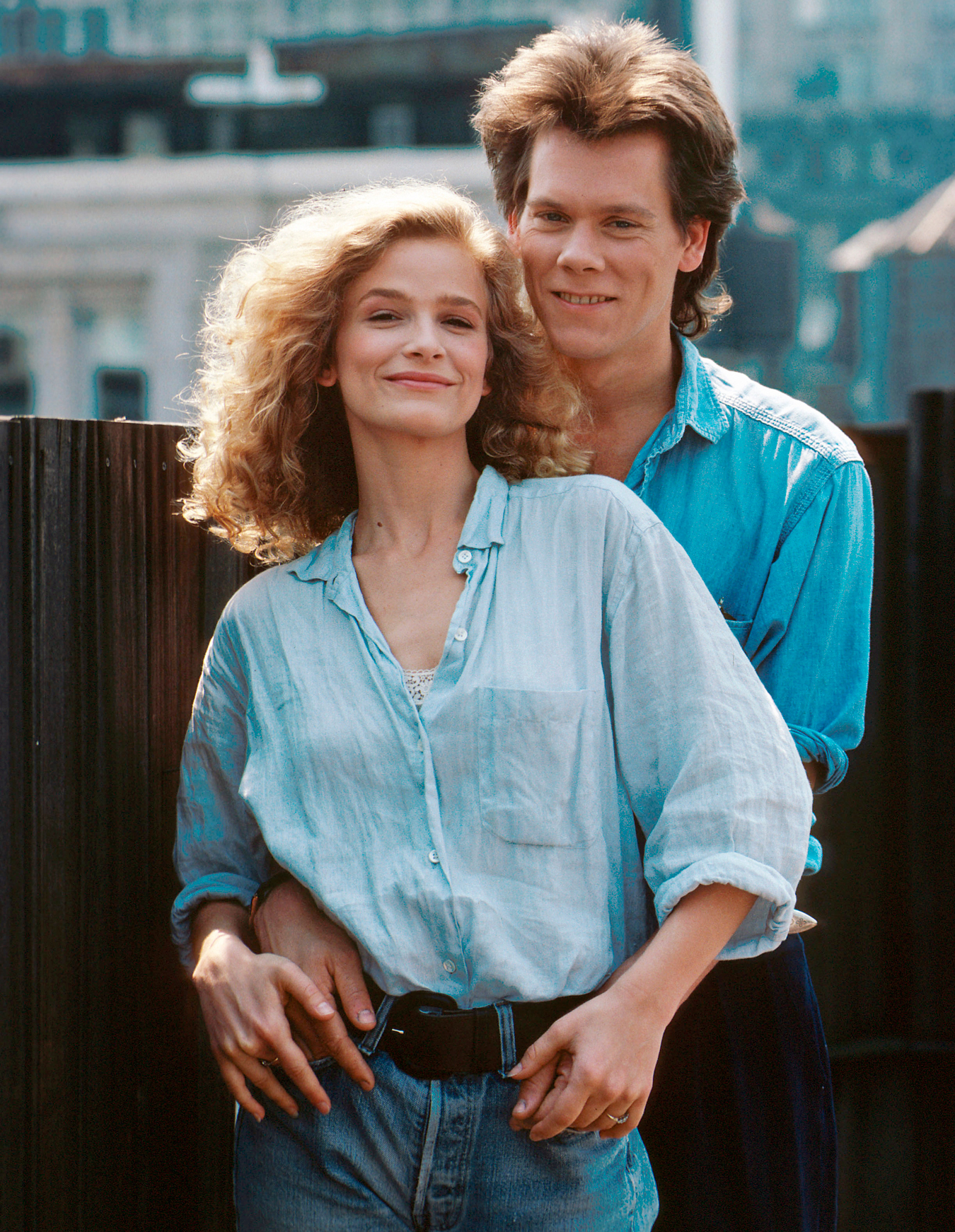 Growing together: Kyra and Kevin Bacon in 2020