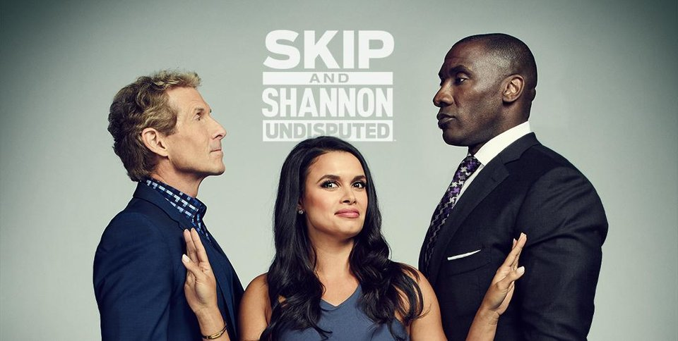 joy taylor skip and shannon: undisputed barry university fox sports the herd