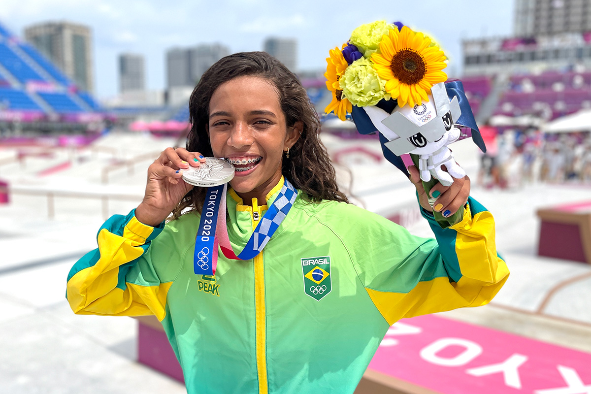 Rayssa Leal - youngest Olympic medalist ever