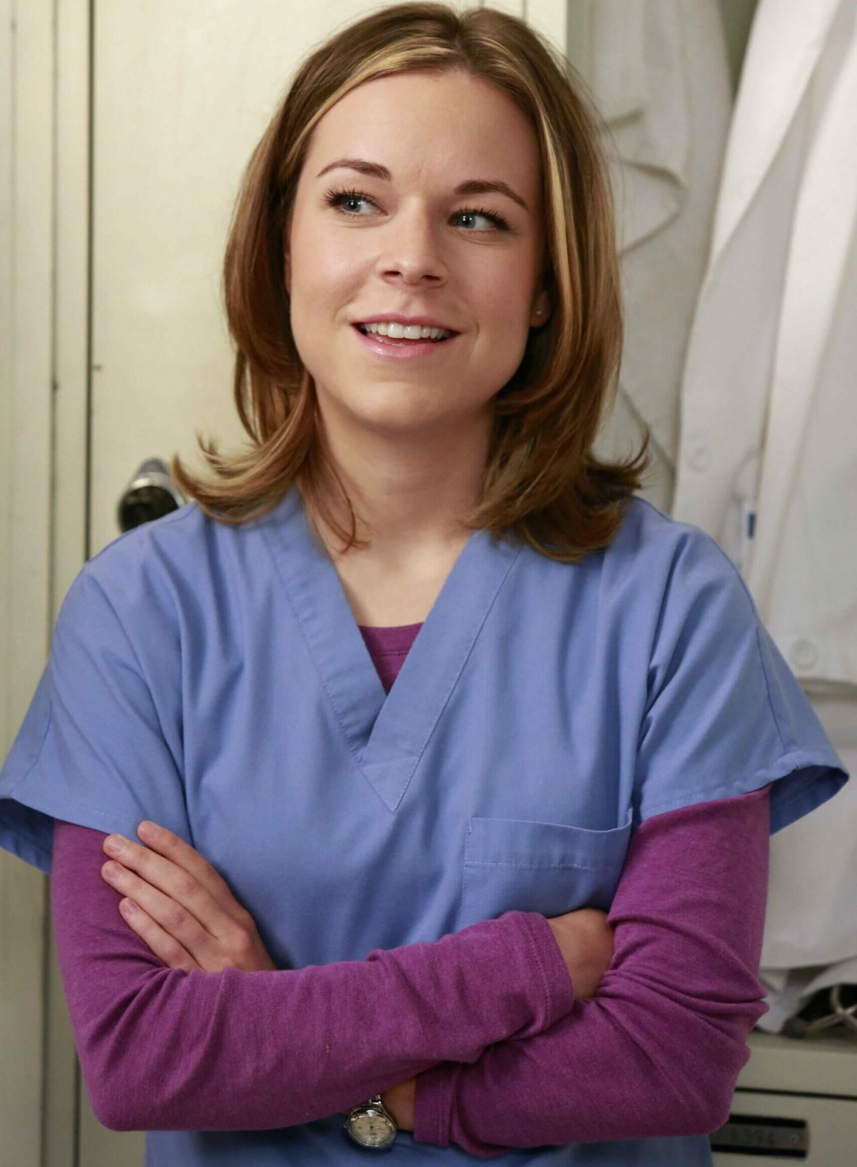 Tina as Dr Heather Brooks in Grey's Anatomy