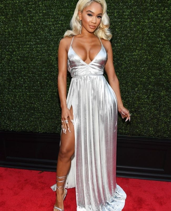 Saweetie - VMAs 2021: Top ten fashion moments from the event