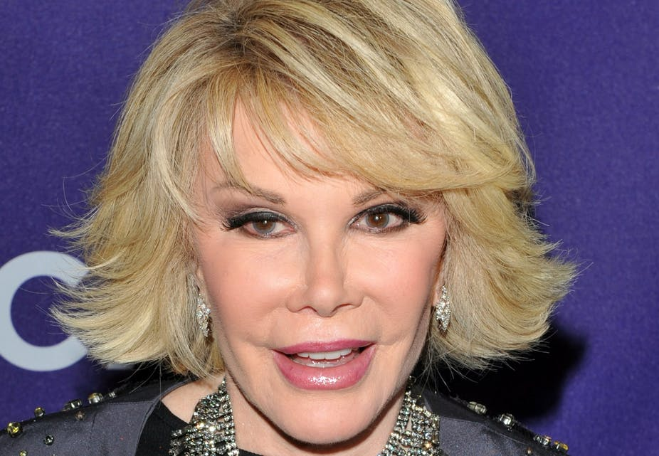 Joan Rivers - 10 celebrities who died from Accidental drug overdose