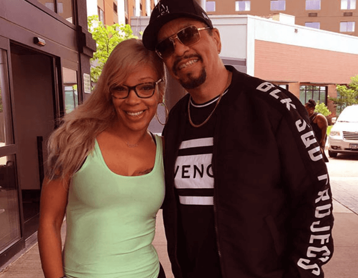 Ice-T and daughter, LeTesha Marrow